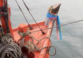 fin du bateau de pêche photo