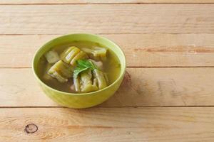 soupe de courge amère photo
