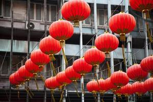 lanternes rouges chinoises