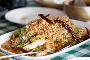 nourriture thaï épicée