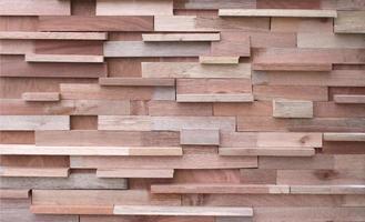 mur de panneaux de bois en bois