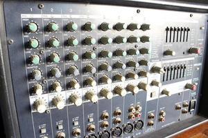 mélangeur d'ampli de puissance photo