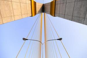 Pont Rama viii à Bangkok, Thaïlande photo