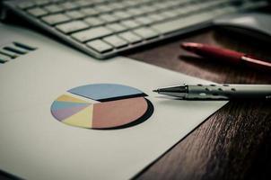 graphique de document commercial
