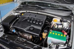 moteur de voiture propre