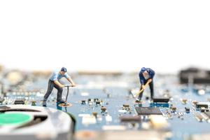 exploration de données de personnes miniatures photo