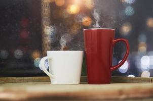 deux tasses à café