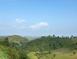 forêt et montagnes en thaïlande