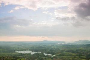 zone agricole en montagne