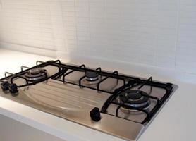 cuisinière à gaz moderne