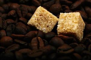 sucre sur café photo