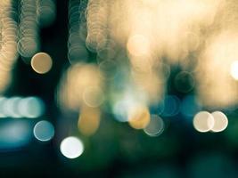 nuit crépuscule floue bokeh