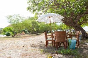 table à manger et chaises photo