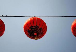 lanterne chinoise rouge photo