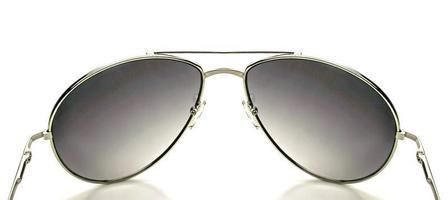 gros plan, de, lunettes soleil photo
