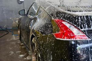 mousse de lavage de voiture