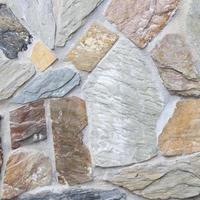 gros plan de mur en pierre photo