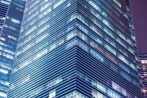 gratte-ciel dans la ville de singapour photo