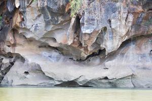 falaises et rivière