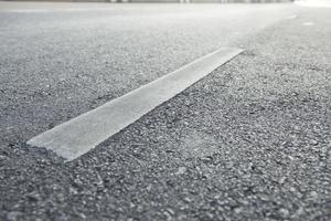surface de la route asphaltée photo