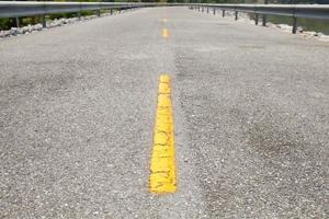 Gros plan de route asphaltée