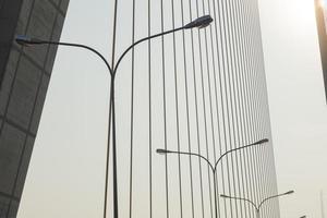 lampes sur le pont