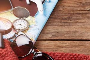 concept de planification de voyage photo