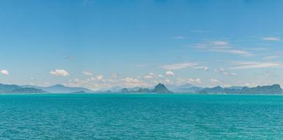 panorama de la mer et du ciel