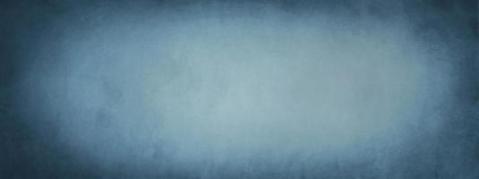 bannière murale bleu foncé photo