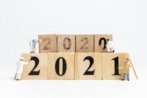 équipe miniature de personnes peinture numéro 2021