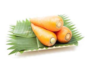 carottes dans l'assiette