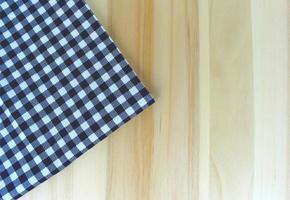 nappe bleue sur table