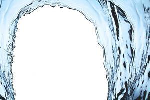 splash vague bleue photo