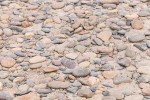 roches sur le sable