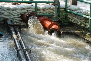 tuyau d'eaux usées