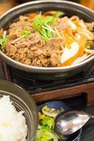 soupe de nouilles japonaise photo