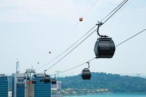 téléphérique à singapour