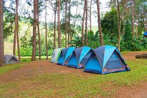 camping en thailande