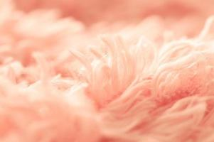 Close up de coton rose tendre