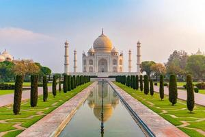 Taj Mahal à Agra, Uttar Pradesh, Inde