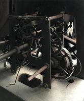 mécanisme d'engrenage antique photo