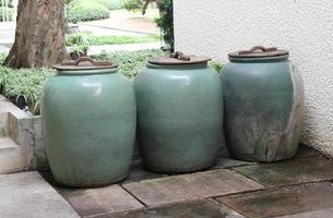 pots à eau vintage