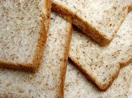 groupe de tranches de pain