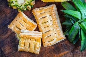 tartes aux ananas cuites au four