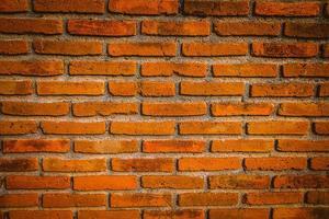 texture de brique rouge photo