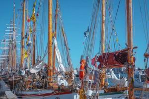 Grands voiliers à Aalborg, Danemark