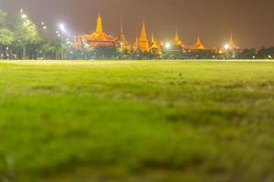 Wat Phra Kaew à Bangkok, Thaïlande photo