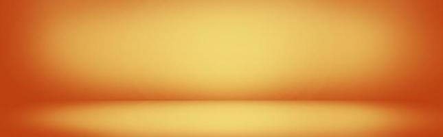 bannière de mur dégradé jaune et orange