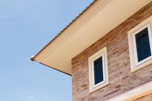 fenêtres sur une maison moderne