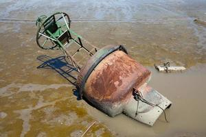 bouée dans la rivière photo